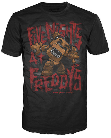 Pop! Tees: Five Nights at Freddy's - Freddy Fazbear