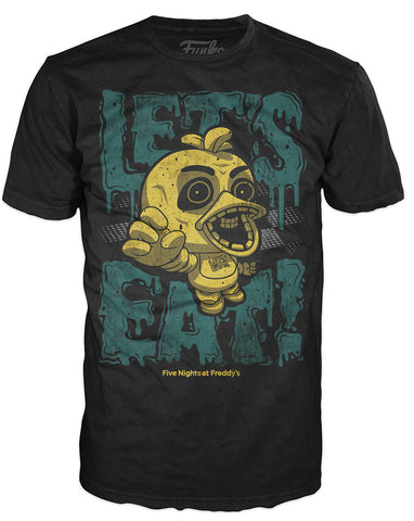 Pop! Tees: Five Nights at Freddy's - Let's Eat
