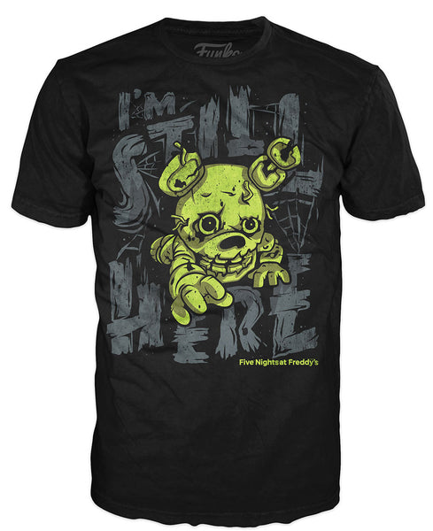 Pop! Tees: Five Nights at Freddy's - Spring Trap
