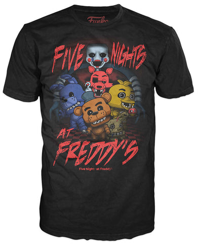 Pop! Tees: Five Nights at Freddy's - Five Nights at Freddy's Group