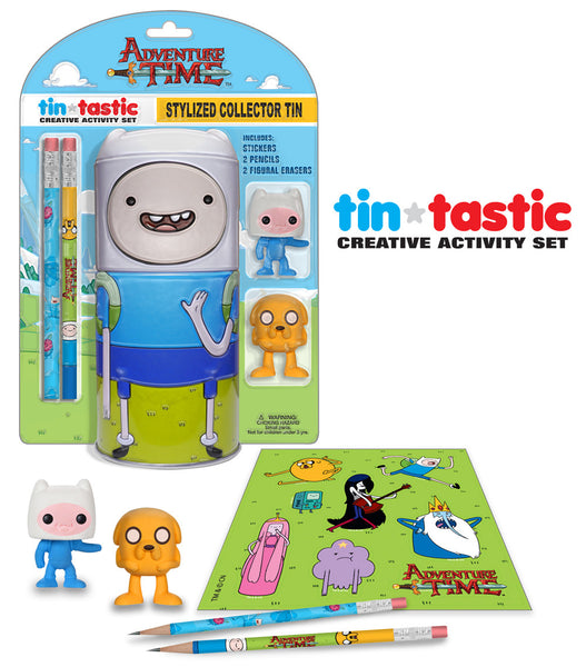 Tin-Tastic Activity Set: Adventure Time - Finn