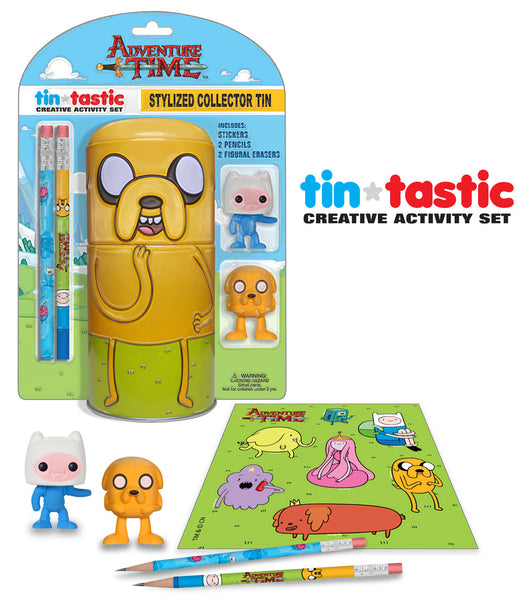 Tin-Tastic Activity Set: Adventure Time - Jake