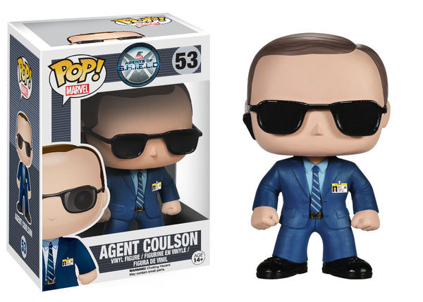Funko POP! Marvel: S.H.I.E.L.D - Agent Coulson