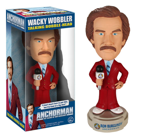 Funko Wacky Wobbler: Anchorman - Ron Burgundy