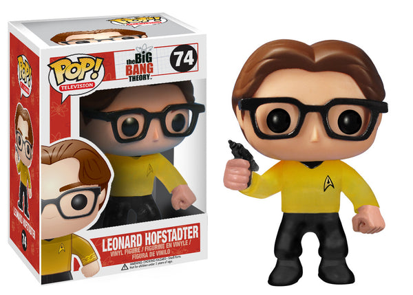 Pop! TV: Big Bang Theory - Leonard Star Trek