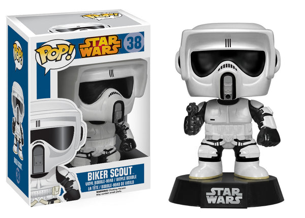Funko POP! Star Wars: Biker Scout
