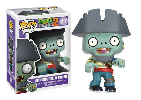 Pop! Plants vs Zomibes: Captian Pirate