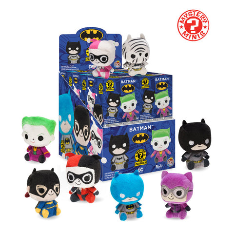 Mystery Mini Blind Bag Plush: DC - Batman