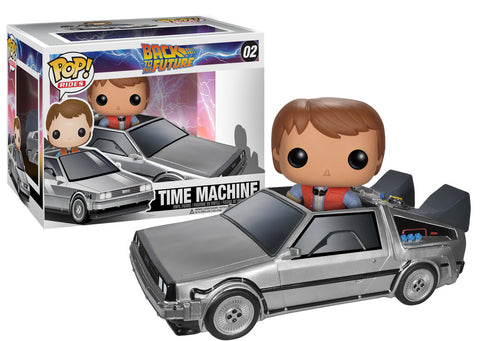 Finko Pop! Movies: Back to the Future - Delorean