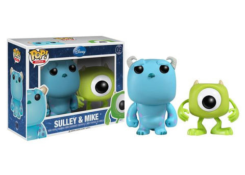 Mini Pop! Disney: 2-PK Mike & Sulley