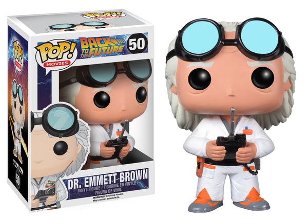 Pop! Movies: Back to the Future - Dr. Emmett Brown