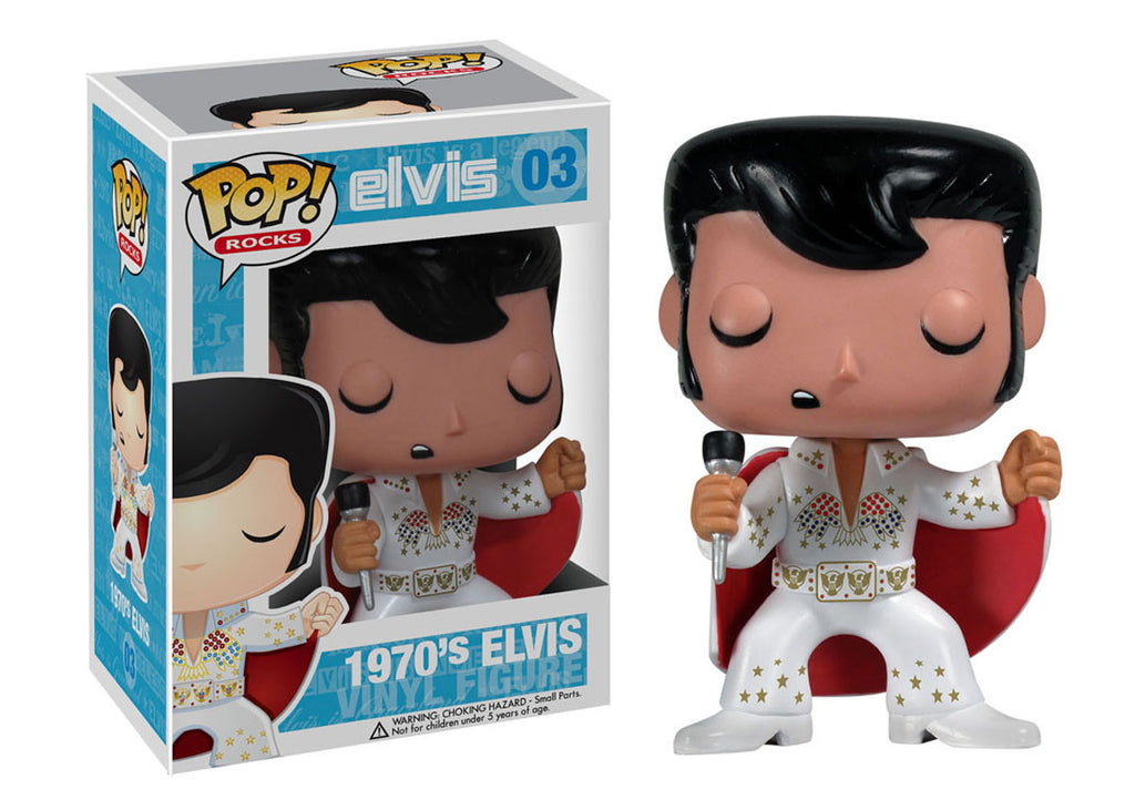Pop Rocks Elvis Presley 70 S Aloha Funko