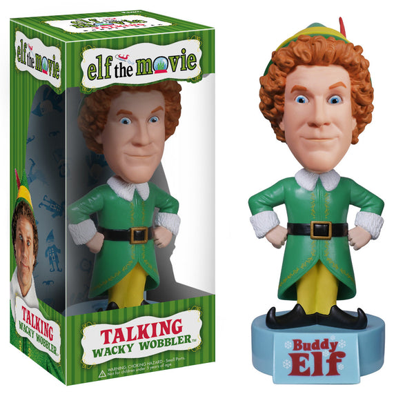 Wacky Wobbler: Elf - Buddy the Elf (talking)