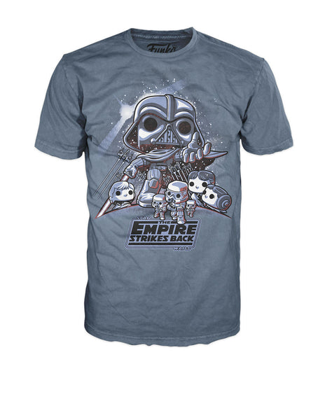 Pop! Tees: Star Wars - The Empire Strikes Back
