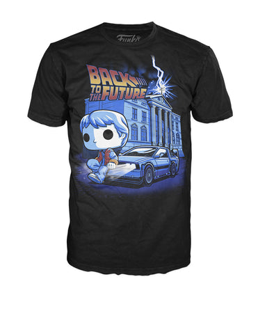 Pop! Tees: Back to the Future - Marty Time Machine