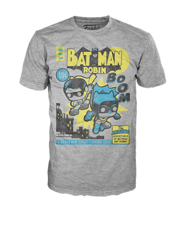 Pop! Tees: DC - Batman Robin Comic Original