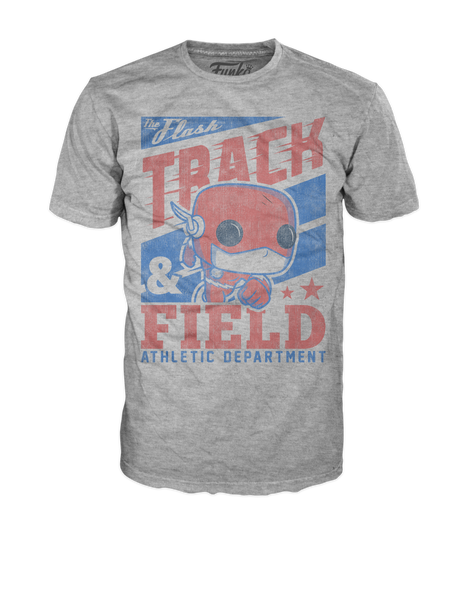 Pop! Tees: DC - Flash Track Field