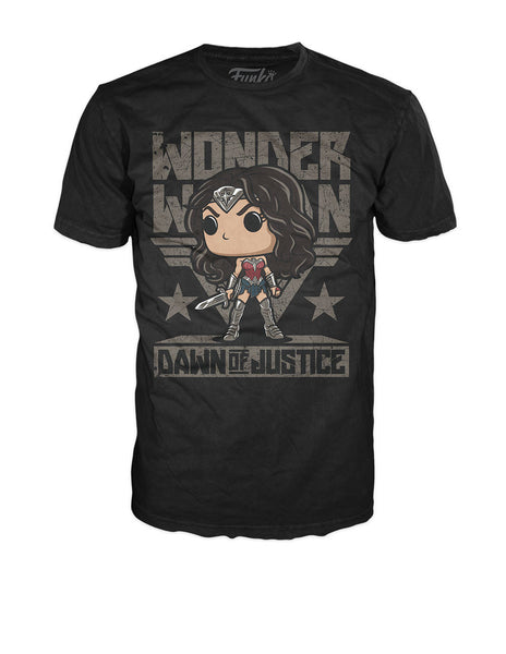 Pop! Tees: DC - Wonder Woman Sword