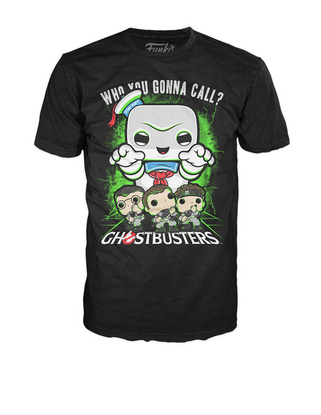Pop! Tees: Ghostbusters - Stay Puft Lime Mist