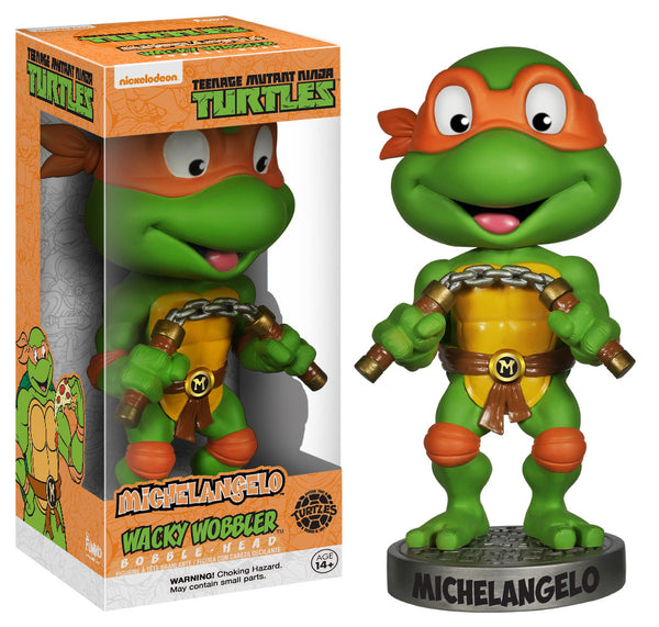 Funko Wacky Wobbler: Teenage Mutant Ninja Turtles - Michelangelo