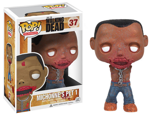 Funko Pop! TV: The Walking Dead - Michonne Pet Walker 2