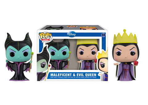 Mini Pop! Disney: 2-PK Maleficent & Evil Queen