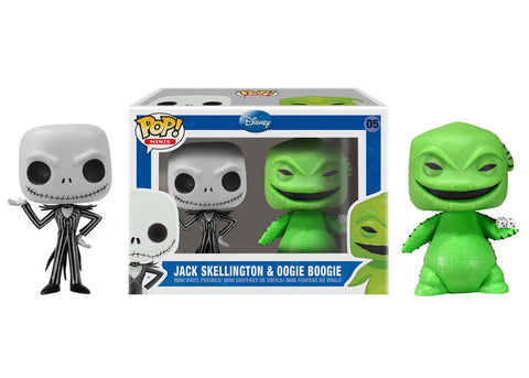 Mini Pop! Disney: 2-PK Jack & Oogie Boogie
