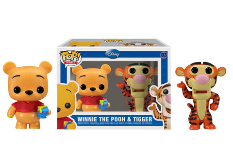 Mini Pop! Disney: 2-PK Pooh & Tigger