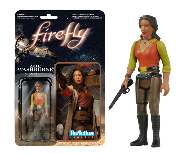 Funko Reaction: Firefly - Zoe Washburne