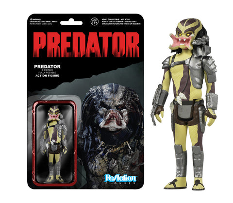 ReAction: Predator - Open mouth Predator