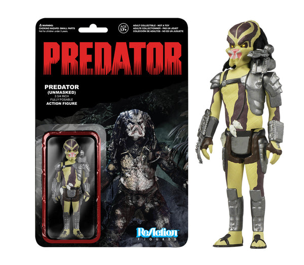 ReAction: Predator - Closed mouth Predator
