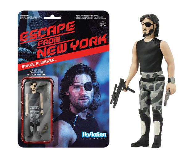 ReAction: Escape from New York - Snake Plissken
