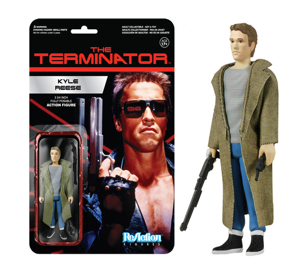 ReAction: Terminator - Kyle Reese
