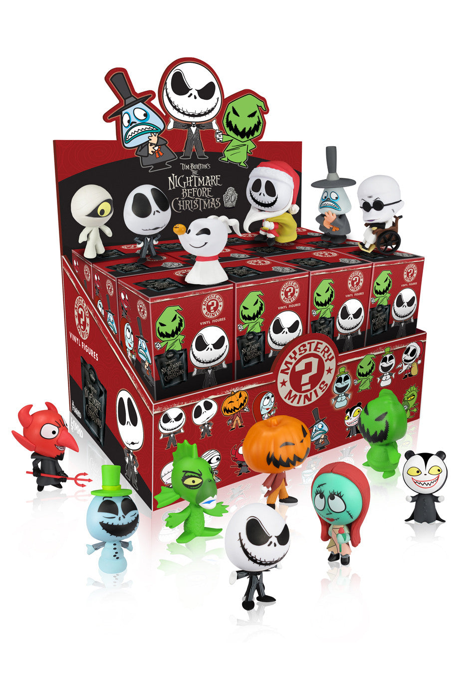 Mystery Minis Blind Box: The Nightmare Before Christmas | Mystery ...