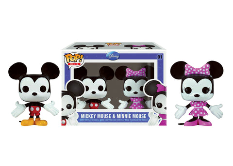 Mini Pop! Disney: 2-PK Mickey & Minnie Mouse