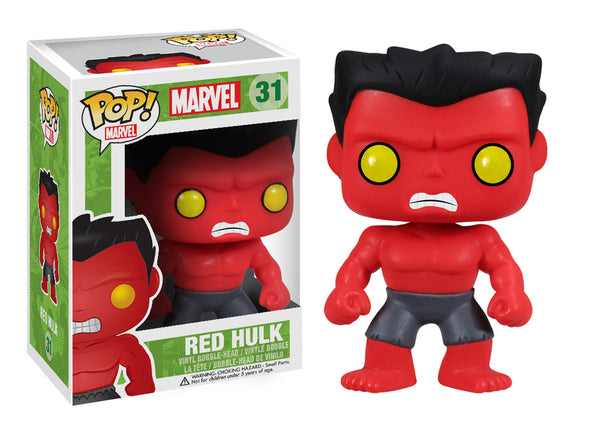 Pop! Marvel: Red Hulk