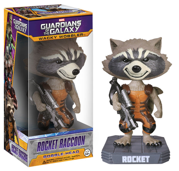 Funko Wacky Wobbler: Marvel - Guardians of the Galaxy - Rocket