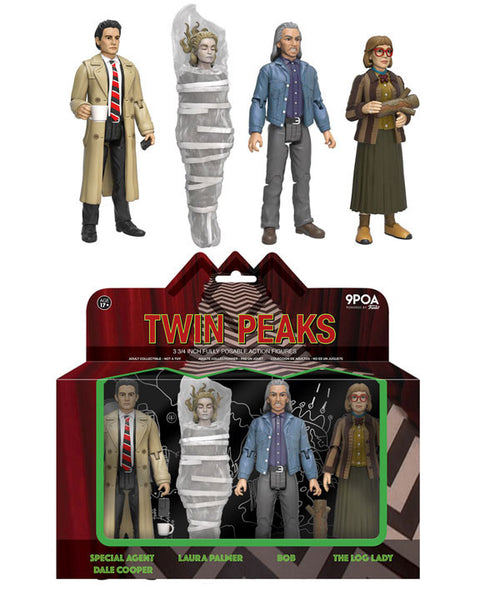 Action Figure: Twin Peaks - 4-Pack