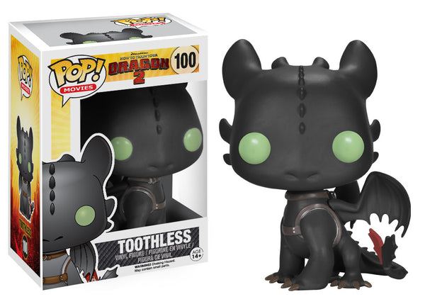Funko Pop! Movies: How to Train Your Dragon - Toothless