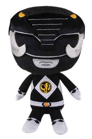 Hero Plushies: Power Rangers - Black Ranger