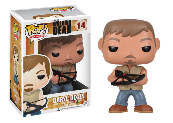 "Pop! TV: 9"" Walking Dead Daryl"