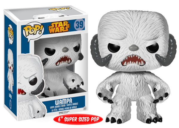 Funko POP! Star Wars: Wampa POP 6""