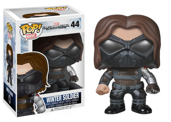 Funko POP! Marvel: Capt. America Movie 2 - Winter Soldier