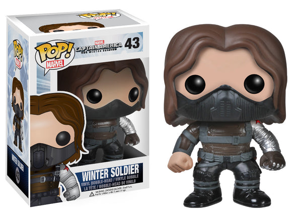 Funko POP! Marvel: Capt. America Movie 2 - Winter Soldier UNMASKED