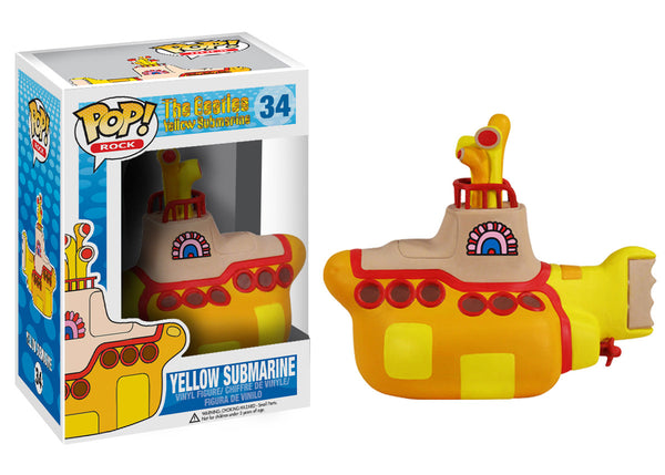 Pop! Rocks: The Beatles - Yellow Submarine