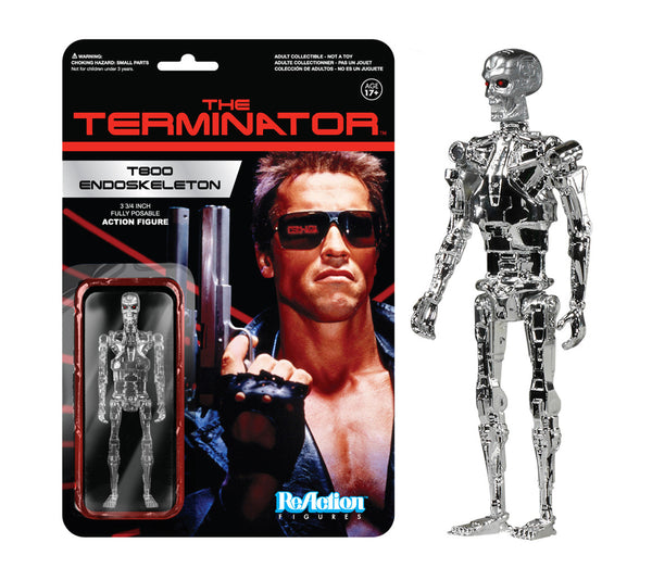 ReAction: Terminator - T800 Endoskeleton Chrome