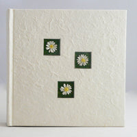 White Daisy Design - 200 Slip Photo Album - Large