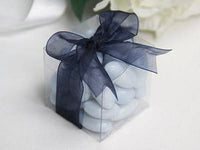 Clear Plastic 8x10cm Rectangle PVC Gift Box - Bomboniere or tealight Holder