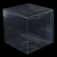 Clear Plastic 12cm Cube LARGE Box - Corporate Attendee Gift Product Box