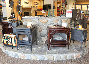 Fireplace Showroom from Hearth and Home Syracuse NY